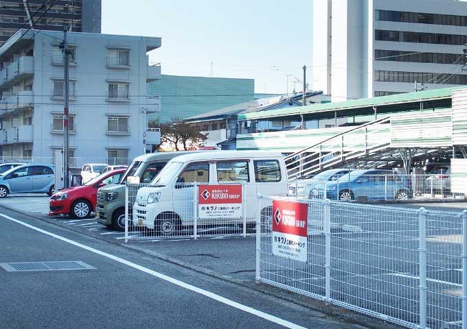 第2駐車場周辺